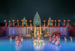 Ramayana Ballet Open Air Theater, Prambanan Temple, Java, Indoneisa (Maria_Globetrotter) Tags: 2016 fujifilm indonesia mariaglobetrotter dscf1196 exotic unesco world heritage java cultural show
