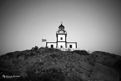 _Il Faro (marziabertelli) Tags: santorini faro farol bianco verde nero grecia greek island trip viaggio gruppi summer estate night sunset tramonto landscape