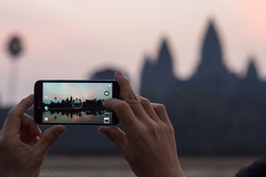 The view of Angkor Wat (abbobbotho) Tags: cambodia angkorwat krongsiemreap siemreapprovince kh