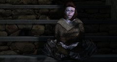 """""""A Girl has No Name."""" (Part 2) (  (The Wandering Herba) Tags: game thrones arya starks braavos begging no one second life blind eyes cat canals stark valar morghulis secondlife:region=horizondream secondlife:parcel=thelookingglasshttpwwwjmrartcomthelookingglass secondlife:x=35 secondlife:y=144 secondlife:z=25"""