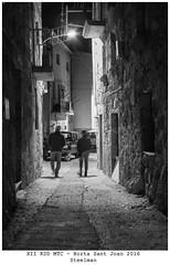 Carrer dHorta de Sant Joan (steelmancat) Tags: bw bn horta sant joan street carrer plaa place square urban rural terra alta catalunya