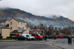 2016 - 13.11.16 Aberfoyle (11) (marie137) Tags: aberfoyle marie137 scotland mist mountain hill town water country