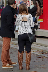 Flat Brown Overknees 1 (booster_again) Tags: jeans boots