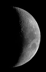 Moon 10 July 2016 (Photon_chaser) Tags: moon phases terminator craters mare