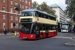 Route 11, Go Ahead London, LT50, LTZ1050 (Jack Marian) Tags: route11 goaheadlondon lt50 ltz1050 newbusforlondon nb4l routemaster newroutemaster fulhambroadway liverpoolstreet londongeneral londoncentral victoria buses bus london