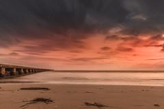 Low tide (Massimo Buccolieri) Tags: grado gorizia sunset longexposure lowtide beach clouds lagunadigrado friuliveneziagiulia seascape ocean coucherdusoleil solnedgang tramonto pôrdosol lapuestadelsol sonnenuntergang