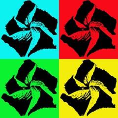 Hibiscus x 4 (brev99) Tags: perfecteffects10 ononesoftware hibiscus popart photoshopelements12 zoomburst saturatedslidefilmeffect d7100 sigma185028hsm
