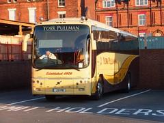 York Pullman J3YPB Chesterfield (Guy Arab UF) Tags: york pullman j3ypb volvo b12m paragon bus chesterfield coach station derbyshire buses yn06rwl logan dunloy