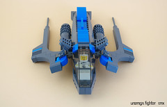 Unemga fighter (RMX) 03 (F@bz) Tags: sf starfighter rmx space scifi starship spaceship
