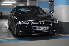 Poland (Poznan) - Audi S8 D4 2014 (PrincepsLS) Tags: poland polish license plate po poznan germany berlin spotting audi s8 d4 2014