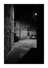 Contrast n. 3 (Franco & Lia) Tags: contrasto contrast ombre shadows biancoenero noiretblanc blackandwhite notte night urbanscape paesaggiourbano tempiopausania sardegna sardina