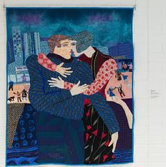 DUI_8179r (crobart) Tags: world treads festival oakville cloth fabric fibre textile art artwork