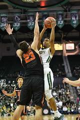 MBasketball-vs-Oregon State, 12/3, Chris Crews, DSC_9492 (Niner Times) Tags: 49ers basketball beavers cusa charlotte d1 mens ncaa oregon pac12 state unc uncc ninermedia