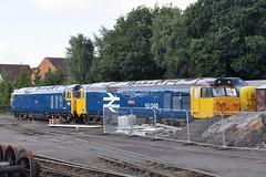 Kidderminster (BarkingBill) Tags: railway railroad train kidderminster 50044 50049