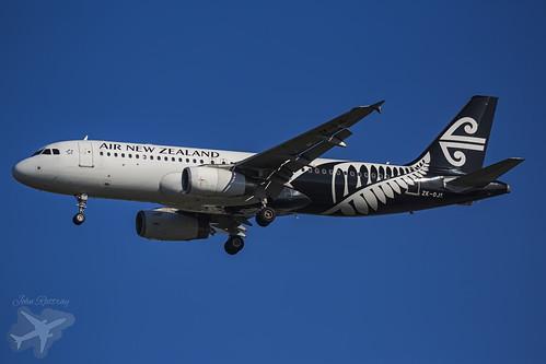 ZK-OJE NZ805 A320