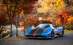 Cinque Roadster (ayeshonline) Tags: paganiraduno pagani paganizonda cinque cinqueroadster zondacinque v12 carsoftokyo car cars tougerun automotive auto hypercar nature autumn cupgang