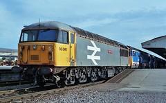 56040 50024 Westbury (thunderer500081) Tags: class50 50024 vanguard class56 56040 oystermouth westbury failed