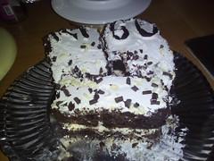 DOLCE PREPARATO A MANO -- PANNA E CIOCCOLATA (rgaioppa) Tags: cucina kitchen dolce cake panna cioccoato
