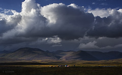 Deosai (xeeart) Tags: sky clouds sunset camps camp tent deosai barapani landscape landscapephotography pakistan xeeshan canon6d