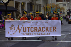 The Nutcracker (swong95765) Tags: parade nutcracker banner marching costumes fanfare crowds street ballet theatre