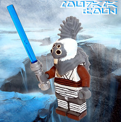 Foul Moudama (OB1 KnoB) Tags: lego star wars mini minifig minifigure minifigurine fig figure figurine custom fool foul moudama foulmoudama jedi knight temple clone theclonewars 2002 talz