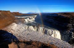 Gullfoss Waterfall, Iceland colour (klauslang99) Tags: klauslang nature photography naturalworld gullfoss waterfalls iceland water landscapes