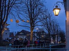 Benrath - 1. Advent - Laterne (KL57Foto) Tags: olympus pen pm2 dsseldorf benrath dsseldorfbenrath kl57foto dezember 2016 benrather schloss weihnachtsmarkt christmas market laterne