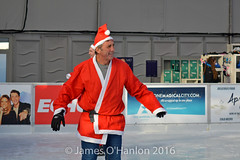 Alan Kennedy ice skating (James O'Hanlon) Tags: santadash santa dash katumba liam smith paul stephen liamsmith paulsmith stephensmith alankennedy philipolivier tinhead alan kennedy btr juliana ritchie photo shoot press ice rink icerink lfc