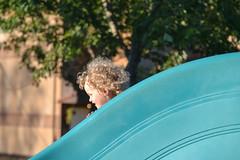 Enjoying the Slide (Vegan Butterfly) Tags: park playground outside outdoor play playing fun slide sliding child kid girl children kids girls cute adorable exercise