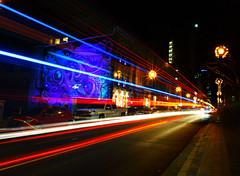 Fantastic lights! (Halifax Barrington Street) (wpc302) Tags: novascotia nikon ns canada ca d3300 dslr longexposure grandparade halifax light street barringtonstreet lowlight citynight traffic metrohalifax bus lighttrail