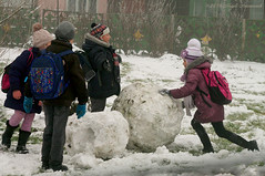 Portrait (Natali Antonovich) Tags: winter belarus motherlandbelarus snow frost christmasholidays nature portrait childhood children tradition mood novogrudok navahrudak