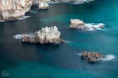 Turquoise (Saioa Elizondo) Tags: water longexposure longexpo largaexposicion sea landscape paisaje nature naturaleza natura blue turquoise beautiful