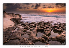 Rock patterns (glank27) Tags: rocks malta sunrise seascape patterns sky karl glanville water reflections silky stream movement tide canon eos 70d efs 1585mm f3556 wet coast mediterranean stpeters pool marsaxlokk haida filters nd filter