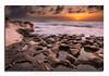 Rock patterns (glank27) Tags: rocks malta sunrise seascape patterns sky karl glanville water reflections silky stream movement tide canon eos 70d efs 1585mm f3556 wet coast mediterranean stpeters pool marsaxlokk haida filters nd filter