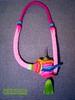 [Colar]  C #94 (*kathamina) Tags: kawool wetfelting freeformcrochet crochetjewelry ooak colar necklace handmade fiber wool beads tassel tubular