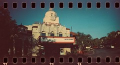 Village Theater (aminter1967) Tags: highland park texas village theater sprocket rocket adox color implosion