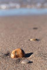 Beach Pebble (peterkelly) Tags: digital ontario canada northamerica canon 6d grandbend pineryprovincialpark lakehuron greatlakes beach sand rock pebble water shoreline shore coast coastline