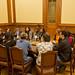 Parodi se reunió con representantes de Impuslo Colectivo en MICA 2015