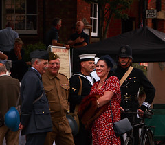 IMG_0523 (Yorkshire Reckless & Proud) Tags: camp tractor bus car bike bicycle hospital soldier army fire dance jeep wwii north helmet 1940 navy engine police sailor jive airforce reenactment raf yanks paras thoresby wraf policcecar