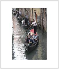 Gondolas (Pictures from the Ghost Garden) Tags: venice color colour nikon canals dslr venezia gondoliers gondolas sanmarco 18105mm d7100