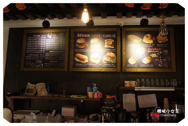 BUGEL Bagel Coffee MENU 下午茶 全日供應 咖啡 平價 捷運站 推薦 新鮮出爐 早午餐 早餐 板橋 板橋火車站 貝果 培果