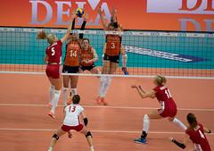 PA011058 (roel.ubels) Tags: netherlands sport rotterdam european nederland poland polen ek championships ahoy volleybal oranje ec europese 2015 cev topsport kampioenschappen