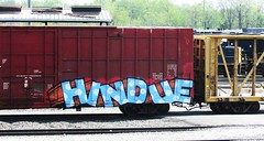 hindue (timetomakethepasta) Tags: train graffiti pacific canadian boxcar cp freight gtb hindue