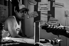 Tijuana Latin Rock (martinnarrua) Tags: bw en music white black byn blanco argentina rock radio nikon negro bn latin entre tijuana ríos amateur música vivo programa colón monocromático insoportablemente nikond3100