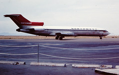 Northwest Airlines Boeing 727 (Sentinel28a1) Tags: northwest greatfalls boeing northwestairlines 727 greatfallsinternationalairport