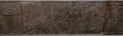 Stone panel from the Northwest Palace of Ashurnasirpal II, Nimrud (ca. 860 B.C.) (heffelumpen9) Tags: sculpture relief britishmuseum nimrud assyrianart neoassyrian