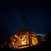 Lodge night sky