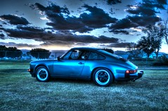 California P-Car Sunset (Spebak) Tags: winter sunset clouds canon 911 porsche coachellavalley porsche911 aircooled 2015 canon30d pcar spebak