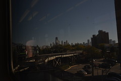 Downtown from the Brown Line (crowbert) Tags: chicago skyline train cta publictransit theel thel openhousechicago2015 ohc2015