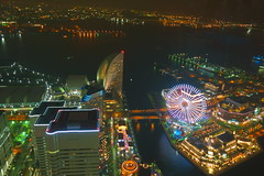 Night view in Yokohama (tatsuya.okuhara) Tags: japan night landmark  yokohama